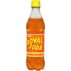 ROYAL SODA 50CL BANANE