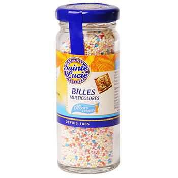 Billes Sainte Lucie Multicolores 80g