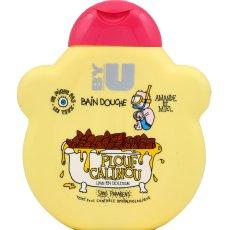 Bain-douche enfant Plouf Calinou By U, flacon de 250ml