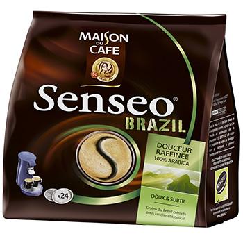 senseo cafe moulu brazil tous les produits caf s en dosettes prixing. Black Bedroom Furniture Sets. Home Design Ideas