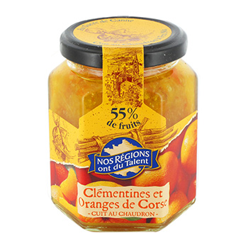 Confiture clementines oranges Nos Regions ont du Talent 315g