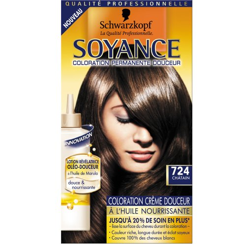 Soyance coloration chatain n°724