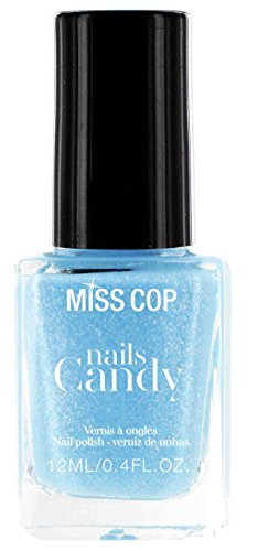 Miss Cop Vernis à Ongles Candy, Kiss Menthe 12 ml