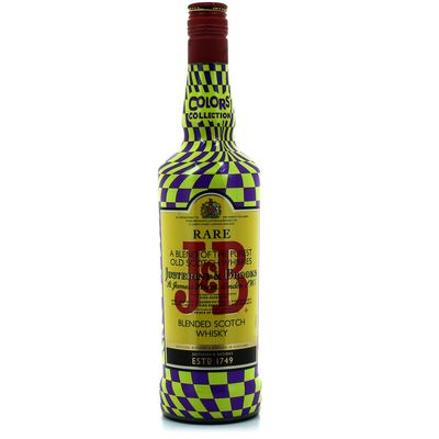 J & b rare whisky 40d 70cl colors collection