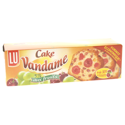 Lu Vandame cake aux fruits 500g