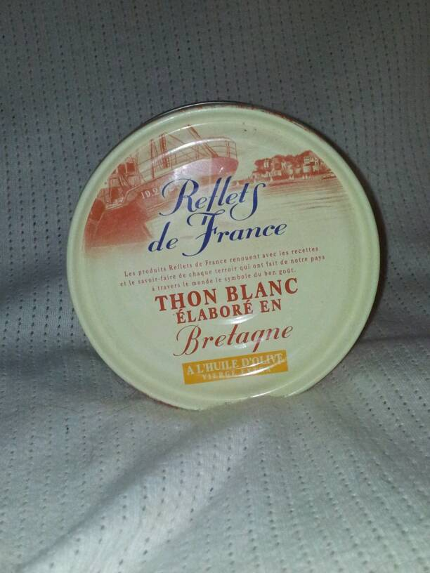 Thon blanc a l'huile d'olive vierge extra