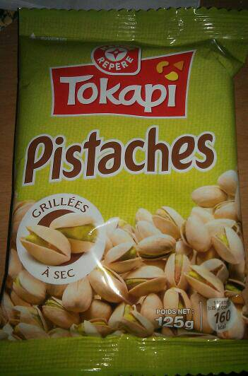 Pistaches tokapi grillees a sec 125g tous les produits cacahu tes autres graines prixing - Calories pistaches grillees ...