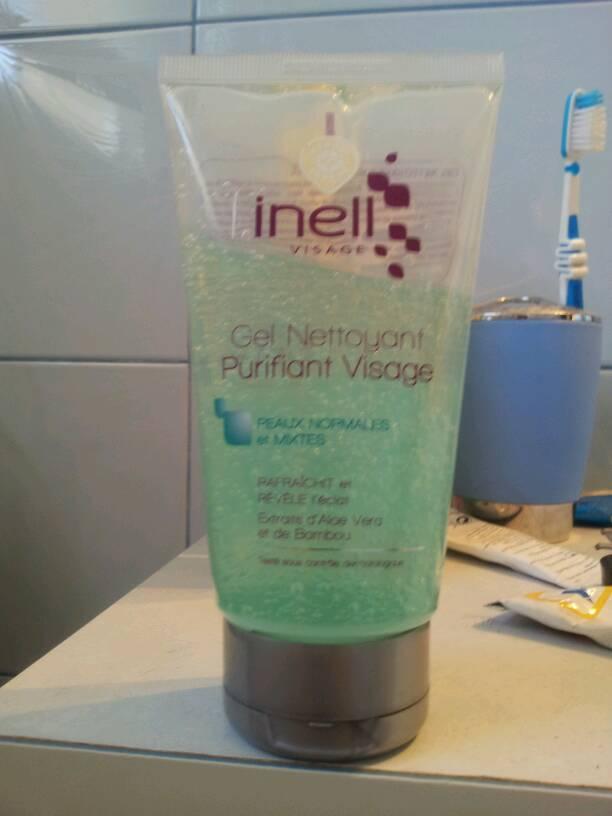 gel nettoyant inell visage purifiant px norm mixtes 150ml tous les produits soins visage. Black Bedroom Furniture Sets. Home Design Ideas