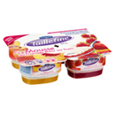 Taillefine Mousse fromage blanc fraise pêche x4