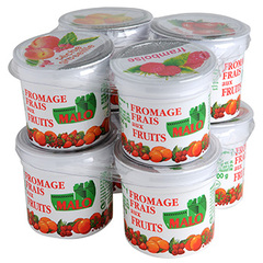 Fromage frais aux fruits Malo 40%mg 8x100g