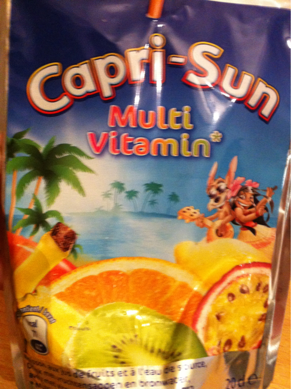 Caprisun Multivitamin