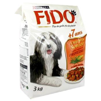 croquettes pour chien senior croq mix fido 3kg tous les produits croquettes prixing