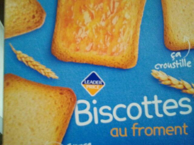 Biscottes au froment x36 300g