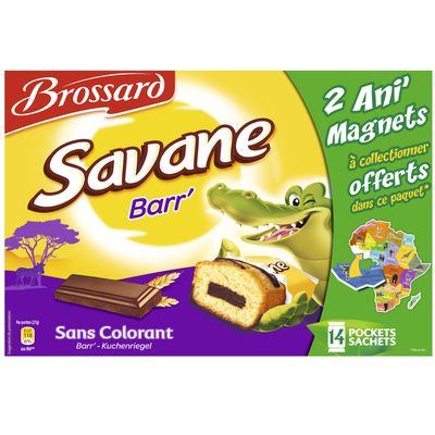 Brossard Savane pocket 14 pieces dont 378g