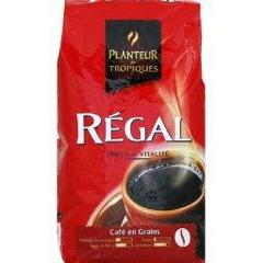 Regal, cafe en grains, le paquet de 1kg
