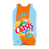 oasis tropical zero pet 2x2l