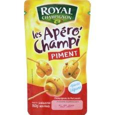 Champignons de Paris aux piments ROYAL CHAMPIGNON, 160g
