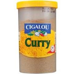 Cigalou, Curry, melange d'epices, le pot de 100g