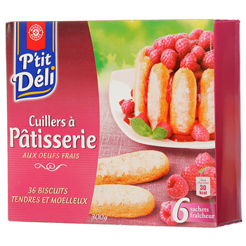 Biscuits cuillers P'tit Deli Patisserie 300g