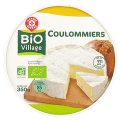 Coulommiers bio Bio Villlage 22% 350G