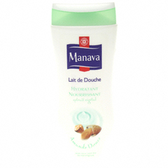 Gel douche Manava amande 250ml