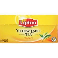 the lipton yellow label tea x25 sachets de 50g tous les produits th s prixing. Black Bedroom Furniture Sets. Home Design Ideas