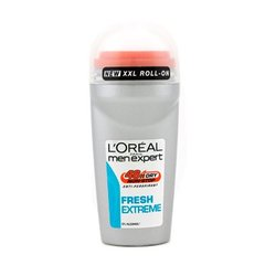 L'Oreal Déodorant Roll-on 4 en 1 Men Expert Fresh Extreme 50 ml - Lot de 2