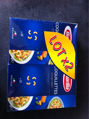 BARILLA LOT COQUILLETTES 500G X 2