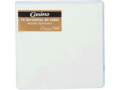 50 Serviettes de table Double epaisseur - Dimension 33x33cm
