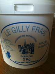 Fromage blanc de campagne Le Gilly frais 20% MG