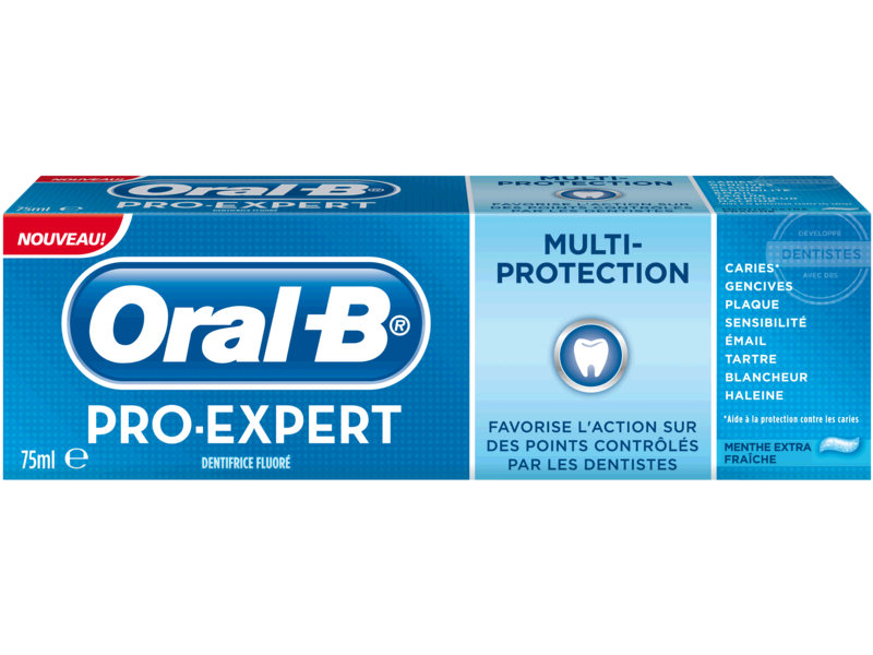 Dentifrice Pro Expert Multi-Protection Menthe Extra Fraiche