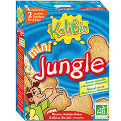 Mini Jungle - Biscuit chocolates Source naturelle de phosphore
