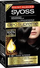 Coloration Oleo Supreme SYOSS, noir intense n°1-10