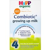 Hipp Combiotic Growing Up Organic Milk Powder 12mth + Etape 4 (600g) - Paquet de 6