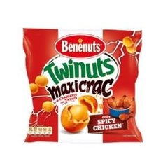 Twinuts Maxi Crac bacon & cheese BENENUTS, 210g