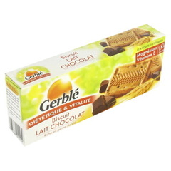 Gerble biscuits lait chocolat 230g