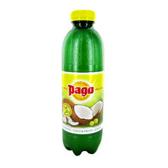 Nectar a base de jus et puree de coco & fruits Pago Pet 75cl