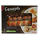 Auchan canapes x20 -130g