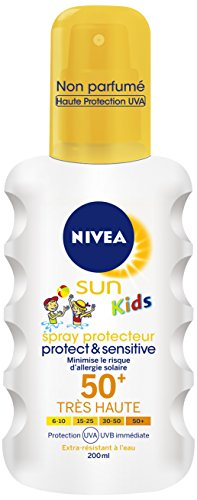 Nivea Sun Spray Kids Protect and Sensitive FPS50 + 200 ml