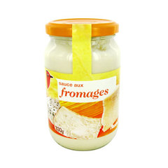 Auchan sauce 4 fromages 330g