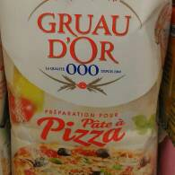 Gruau d'Or preparation pour pate a pizza 500g