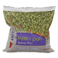 Petits pois extra fins - 6 personnes