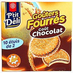 Gouters ronds chocolat pocket 440g