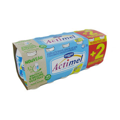Actimel Danone 0%mg Nature x10