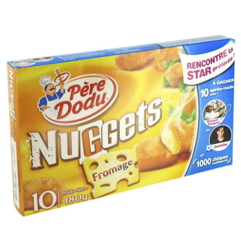 Nuggets de fromage PERE DODU, 180g
