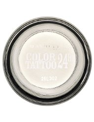 Gemey Maybelline Eyestudio Color Tattoo 24h Ombre à Paupières 45 Infinite White
