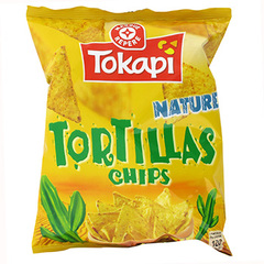 Tortillas chips Tokapi nature 150g