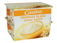 Fromage blanc vanille 3% m.g.