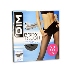 Collant voile Body Touch DIM, taille 3, noir