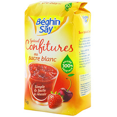Sucre blanc beghin say Special confiture 1kg